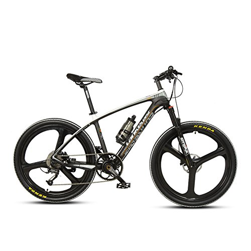 VTSP-S600-Air-Fork-Mountain-Bike-For-Man-36V-68A-Carbon-Fiber-Frame-Electric-Bike36V-250w-Shimano315-Hydraulic-Disc-Brake-Magnesium-Alloy-Brushless-Motor-Gift-For-Man-Black-white-0