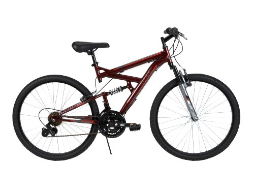 Huffy-Bicycle-Company-Mens-Dual-Suspension-DS-3-Bike-Dark-Metallic-Red-26-Inch-0