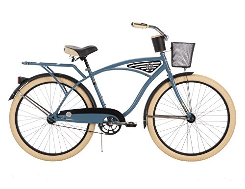 Huffy-Mens-Deluxe-Cruiser-Bicycle-26-inch-0
