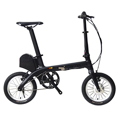 SAVADECK-E0-14-Carbon-Fiber-Frame-Folding-Electric-Bicycle-36V-180W-E-Bike-Fixed-Gear-Single-Speed-Urban-Track-Mini-City-Foldable-Bicycle-with-Headlights-0