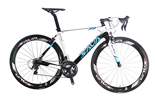 SAVADECK-Graceful-10-700C-Road-Bike-T800-Carbon-Fiber-Frame-Bicycle-with-SHIMANO-Ultegra-6800-22-Speed-System-HUTCHINSON-25C-Tire-and-Fizik-Saddle-0