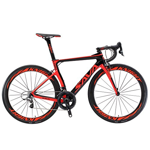 SAVADECK-Phantom-20-700C-Carbon-Fiber-Road-Bike-SHIMANO-Ultegra-6800-22-Speed-Group-Set-with-HUTCHINSON-25C-Tire-and-Fizik-Saddle-0