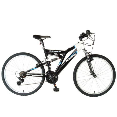 Polaris-Mens-Ranger-Mountain-Bike-BlackBlue-26-X-18-Inch-0