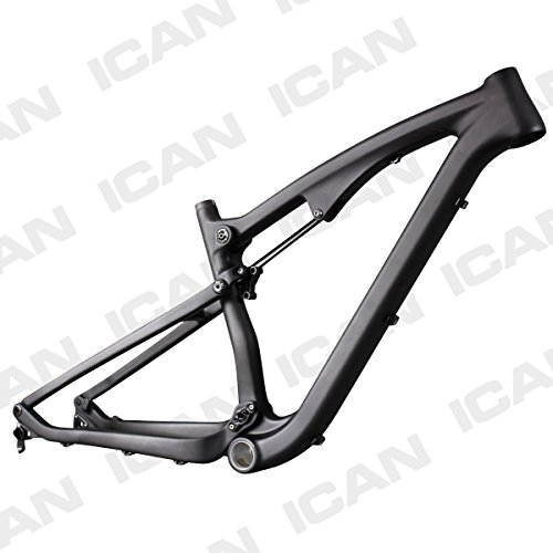 ICAN-275er-Mountain-Bike-Suspension-Carbon-Fiber-Frame-142mm-Thru-Axle-Rear-Hanger-Frames-Medium-0