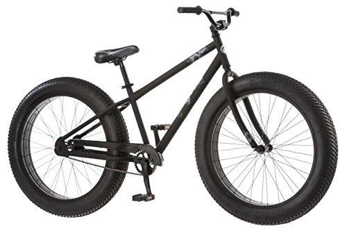 Mongoose-Beast-Mens-Fat-Tire-Bicycle-Black-26-0