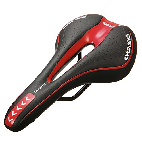 OUTERDO-Bike-Saddle-Mountain-Bike-Seat-Breathable-Comfortable-Bicycle-Seat-with-Central-Relief-Zone-and-Ergonomics-Design-Fit-for-Road-Bike-and-Mountain-Bike-0