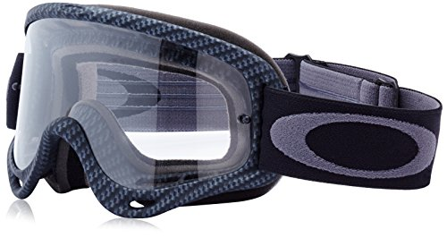 Oakley-O-Frame-Graphic-Frame-MX-Goggles-True-Carbon-FiberClear-Lens-One-Size-0