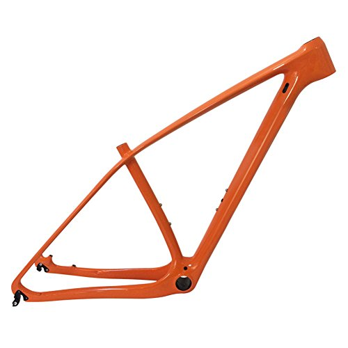 SmileTeam-T1000-Carbon-Orange-Mtb-Frame-29er-Mtb-Carbon-Frame-29-Carbon-Mountain-Bike-Frame-14212-or-1359mm-Bicycle-Frame-17inch-0