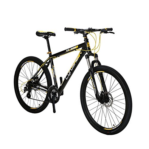 VTSP-XF300-21-Frame-Aluminum-Frame-Mountain-Bike-MTB-Shimano-24-Speed-Dual-Disc-Brakes-Suspension-Fork-Bicycle-Gift-Black-Friday-Promotion-For-Unisex-Ships-From-US-Warehouse-black-yellow-0-0