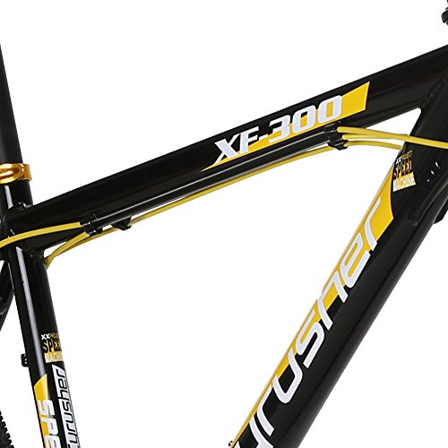 VTSP-XF300-21-Frame-Aluminum-Frame-Mountain-Bike-MTB-Shimano-24-Speed-Dual-Disc-Brakes-Suspension-Fork-Bicycle-Gift-Black-Friday-Promotion-For-Unisex-Ships-From-US-Warehouse-black-yellow-0-2