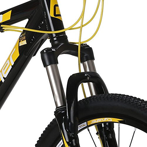 VTSP-XF300-21-Frame-Aluminum-Frame-Mountain-Bike-MTB-Shimano-24-Speed-Dual-Disc-Brakes-Suspension-Fork-Bicycle-Gift-Black-Friday-Promotion-For-Unisex-Ships-From-US-Warehouse-black-yellow-0-3