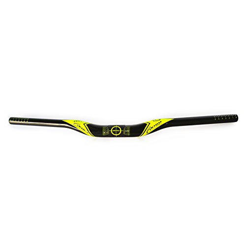 BEIOU-Carbon-Fiber-Handle-Bar-Unibody-Mountain-Bike-Riser-Bar-720mm-Road-Bike-Handle-Bar-Ultralight-T700-Yellow-H002A272-0