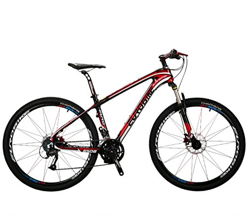 27-Speed-Carbon-MTB-Bike-275er-175-Size-Red-0