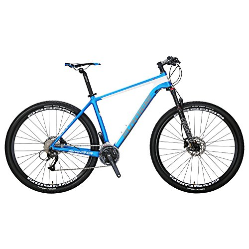 Carbon-Fiber-Mountain-Bike-27-Speed-M370-Gears-29-inches-Wheels-Dual-Disc-Brake-MTB-Bicycle-Blue-white-0