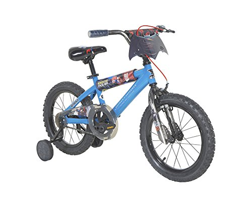 Dynacraft-Batman-v-Superman-Boys-BMX-StreetDirt-Bike-16-BlueBlackRed-0