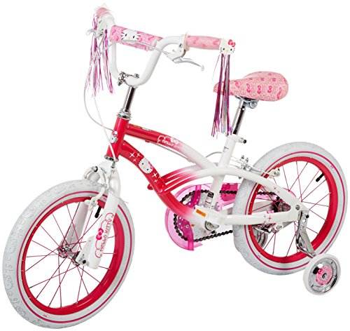 Dynacraft-Hello-Kitty-Girls-BMX-Street-Bike-16-PinkWhitePink-0