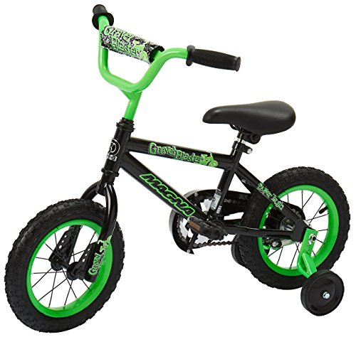 Dynacraft-Magna-Gravel-Blaster-Boys-BMX-StreetDirt-Bike-12-BlackGreen-0