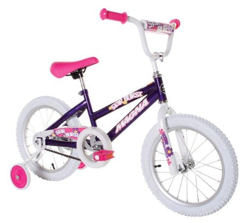 Dynacraft-Magna-Starburst-Girls-BMX-StreetDirt-Bike-16-PurpleWhitePink-0