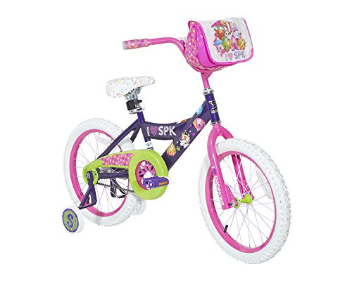 Dynacraft-Shopkins-Girls-Street-Bike-18-PurplePinkGreenWhite-0