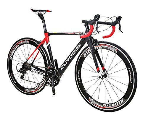 EUROBIKE-EU900-50CM-Carbon-Frame-Road-Bike-18-Speed-700C-Racing-Bicycle-0