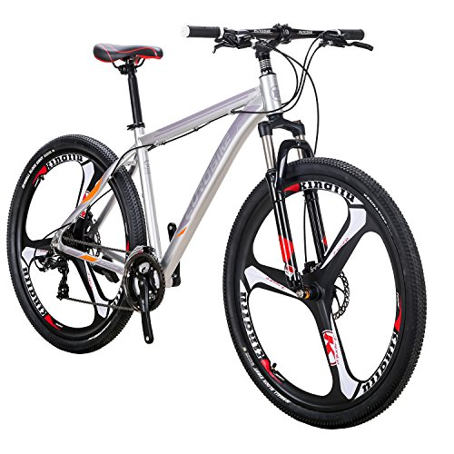 Eurobike Mountain Bike 21 Speed 3 Spoke 29 Inches Wheels Dual Disc