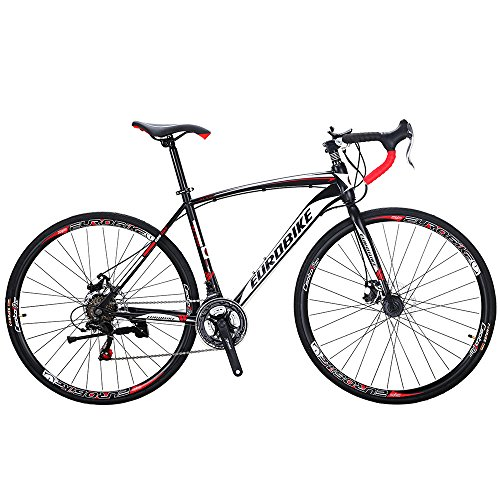 EUROBIKE-Road-Bike-TSM550-21-Speed-Dual-Disc-Brake-700C-Wheels-Road-Bicycle-0