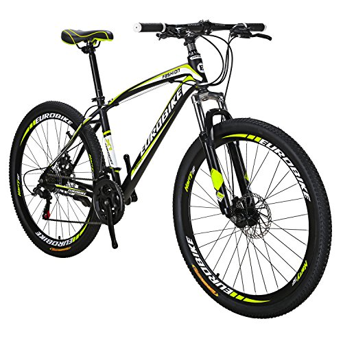 EUROBIKE-X1-Mountain-Bike-21-Speed-MTB-Bicycle-275-Inch-Wheels-Suspension-Fork-Mountain-Bicycle-0