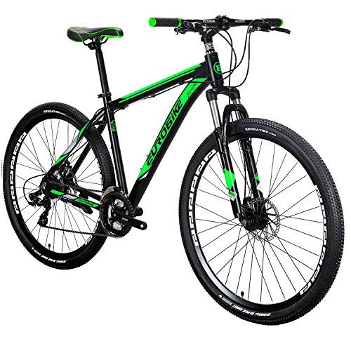 EUROBIKE-X9-Mountain-Bike-21-Speed-29-Inches-Wheels-Dual-Disc-Brake-Aluminum-Frame-MTB-Bicycle-0