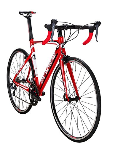 EUROBIKE-XC7000-16-Speed-Road-Bike-Light-Aluminum-Frame-700C-Road-Bicycle-0