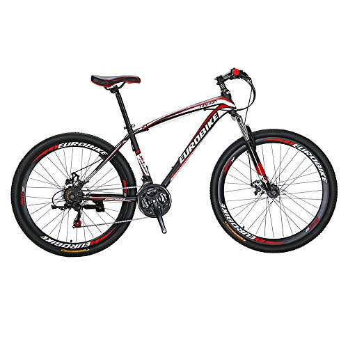 Eurobike-Moutain-Bike-X1-21-Speed-MTB-275-Inches-Wheels-Dual-suspension-Mountan-Bicycle-Black-Red-0