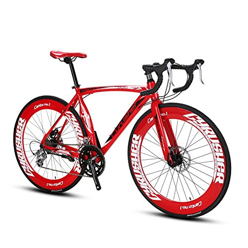 Extrbici-XC700-Sports-Racing-Road-Bike-for-Mens-700Cx70MM-Wheel-54CM-Lightweight-Aluminum-Alloy-Frame-14-Speeds-Shimano-2400-Shift-Gears-Road-Bicycle-for-Adults-Mechanical-Disc-Brakes-0