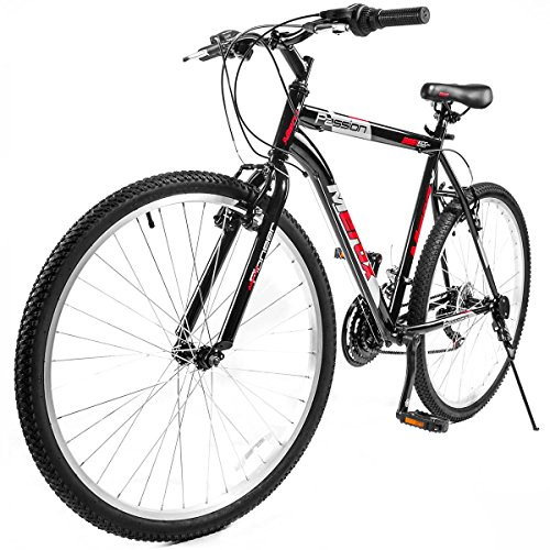 Merax-26-Mountain-Bike-Aluminum-Frame-18-Speed-26-inch-Bicycle-BlackRed-0