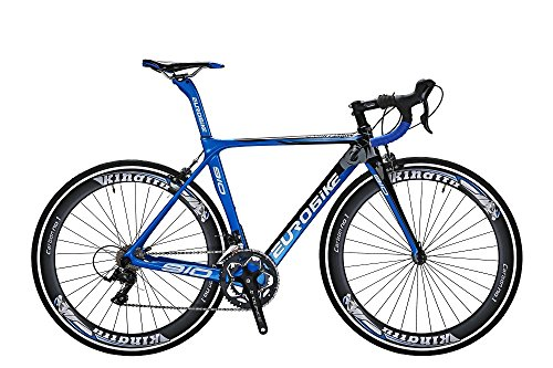 TSM910-50-Cm-Carbon-Fiber-Frame-Road-Bike-18-Speed-700C-Road-Bicycle-Blue-0