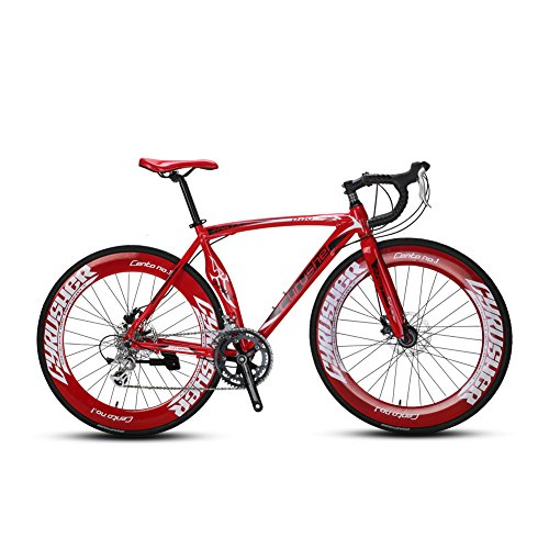 VTSP-Upgrade-XC700-Road-Bike-Red-Road-Bicycle-For-Man-56CM-700C-14-Speeds-Mechanical-Disc-Brakes-Bicycle-Gift-For-Man-Red-0