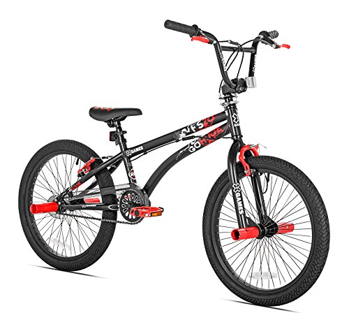 X-Games-FS-20-BMXFreestyle-Bicycle-20-Inch-Black-Red-0