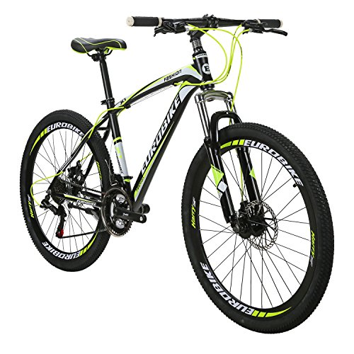 X1-Mountain-Bikes-21-Speed-MTB-Bicycle-26-Inch-Wheels-Suspension-Fork-MTB-Bicycle-2018-Black-yellow-0