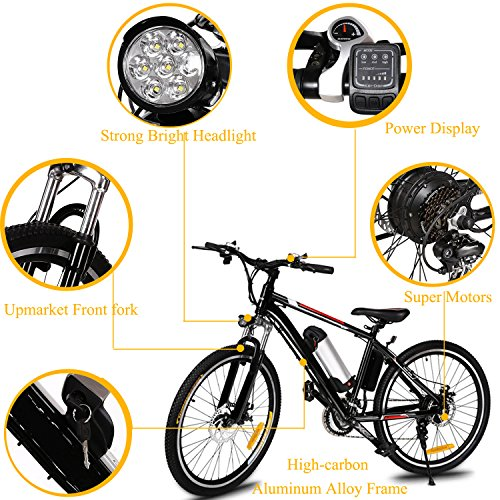 Dtemple-26-Aluminum-Alloy-Frame-Electric-Mountain-Bike-250W-Electric-Bike-with-36V-8AH-Removable-Lithium-Ion-Battery-for-Adults-and-Teens-US-STOCK-0-2