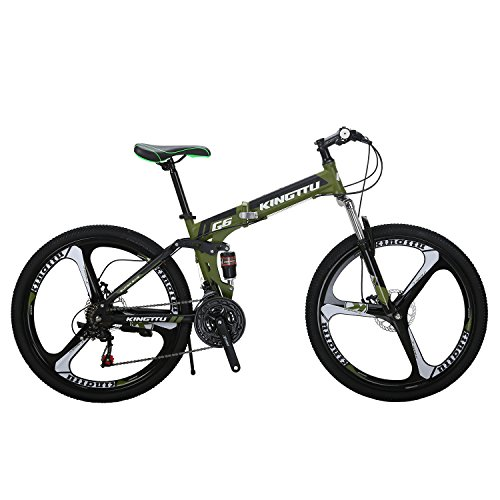 Kingttu-G6-Mountain-Bike-26-Inches-3-Spoke-Wheels-Dual-Suspension-Folding-Bike-21-Speed-MTB-Bicycle-0