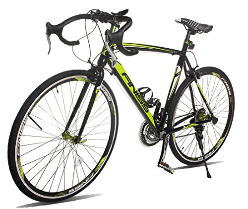 Merax-Finiss-Aluminum-21-Speed-700C-Road-Bike-Racing-Bicycle-Green-Black-56-cm-0