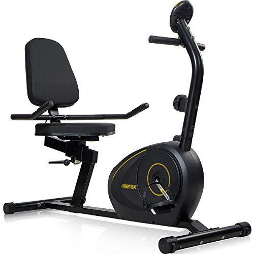 Merax-RB1020-Magnetic-Recumbent-Bike-Exercise-Bike-Fitness-Stationary-Bicycle-0