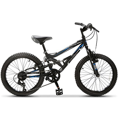 ORKAN-20-Kids-Mountain-Bike-Children-Bicycle-Dual-Suspension-7-Speed-Shimano-Derailleur-Blue-Black-0