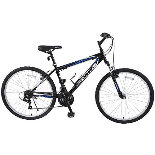 ORKAN-Mountain-Bike-26-Men-Women-Hybrid-Bike-MTB-18-Speed-Full-Suspension-Shimano-Blue-Black-0