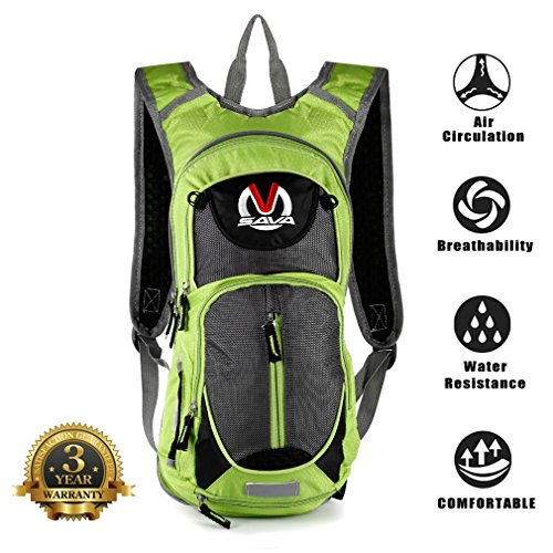 SAVADECK-15L-Water-resistant-Cycling-Backpack-Cycle-Bike-Shoulder-Hydration-Bladder-Bag-Biking-Rucksack-with-Safety-Reflective-Sections-and-Helmet-mounted-System-0