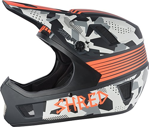 SHRED-BMX-Mountain-Bike-MTB-Helmet-with-No-shock-Brainbox-Tundra-SmallMedium-53-58-0