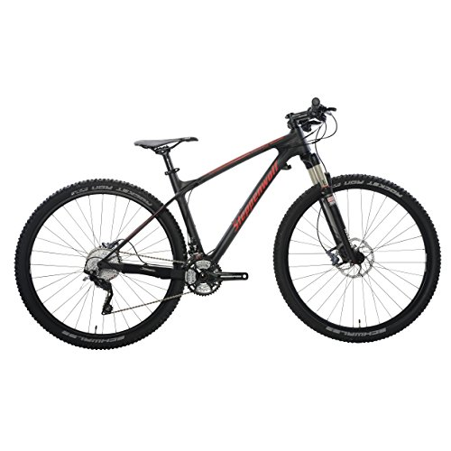 Steppenwolf-Mens-Tundra-Carbon-LTD-Hardtail-Mountain-Bike-29-inch-wheels-20-inch-frame-Mens-Bike-BlackRed-99-assembled-0