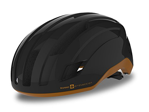 Sweet-Protection-Outrider-Bike-Helmet-Matte-BlackBrown-Tundra-Large-0