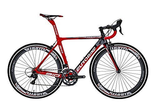 TSM910-50-Cm-Carbon-Fiber-Frame-Road-Bike-18-Speed-700C-Road-Bicycle-Red-0