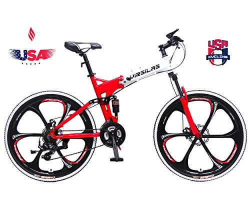 Virsilas-Folding-Mountain-Bike-Full-Suspension-MTB-V1-Sport-Official-Red-0
