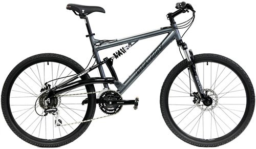2018-Gravity-FSX-10-Dual-Full-Suspension-Mountain-Bike-with-Disc-Brakes-Shimano-Shifting-Gray-15in-0