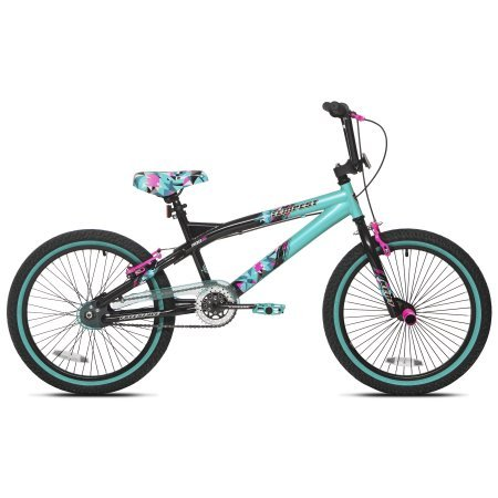 Capture-Girls-Attention-with-Soft-and-Sturdy-Kent-20-Tempest-Girls-BikeFeatures-Front-and-Rear-Hand-Brakes-Plus-Front-and-Rear-PegsSafe-and-Comfortable-Gift-Choice-for-KidsBlackGreen-0-0